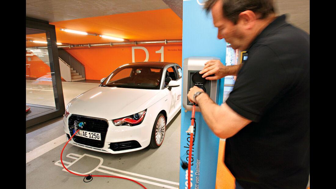 Audi A1 E-Tron, Stromladung