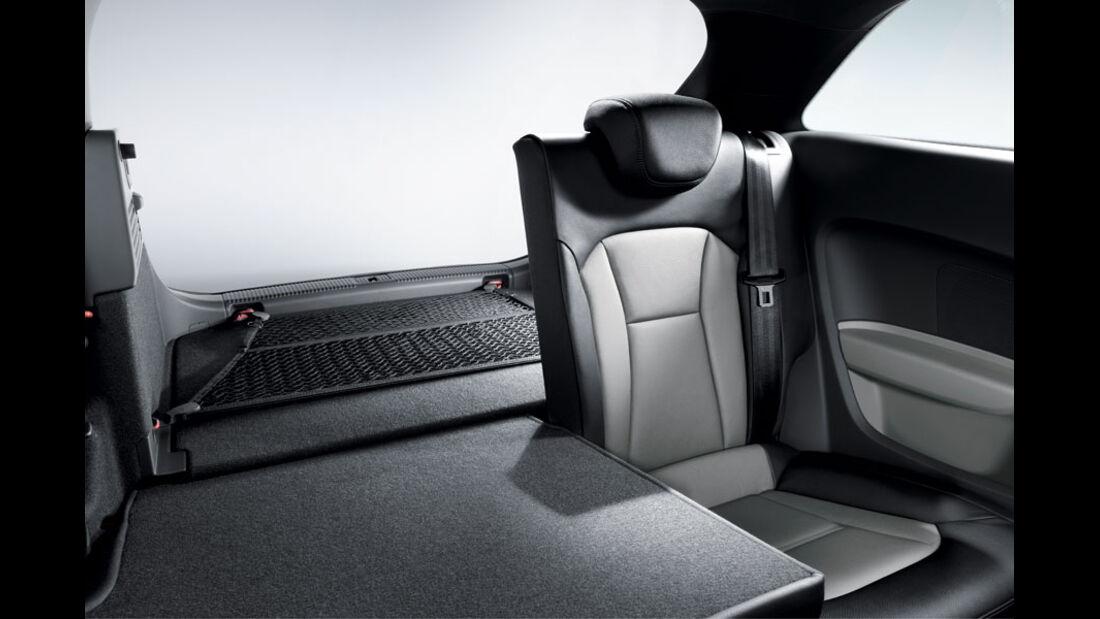 Audi A1, Gepäckraumpaket