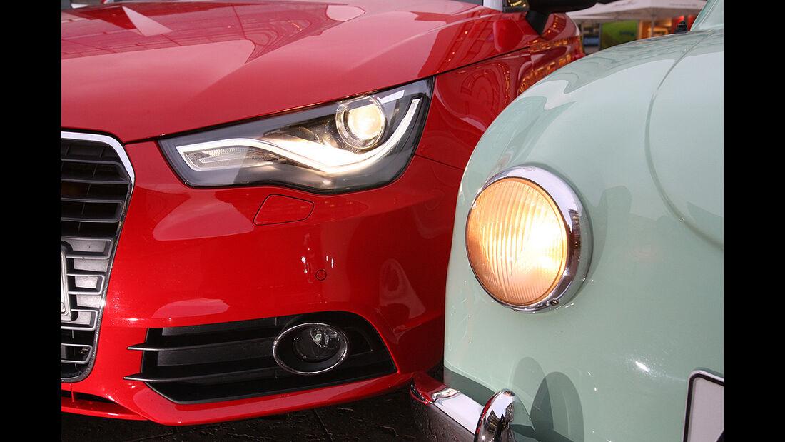 Audi A1, Goggomobil, Scheinwerfer