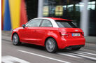 Audi A1, Heck