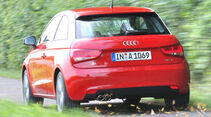 Audi A1, Kofferraum