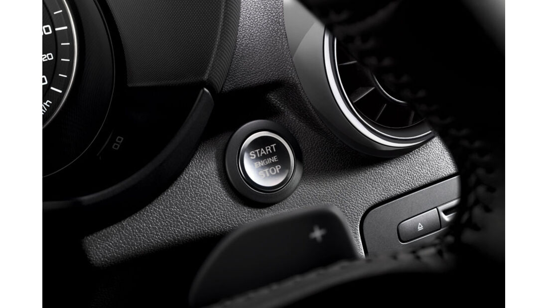 Audi A1, Komfortschlüssel