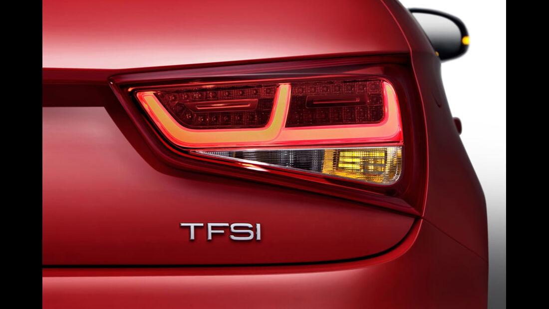 Audi A1, LED-Heckleuchten