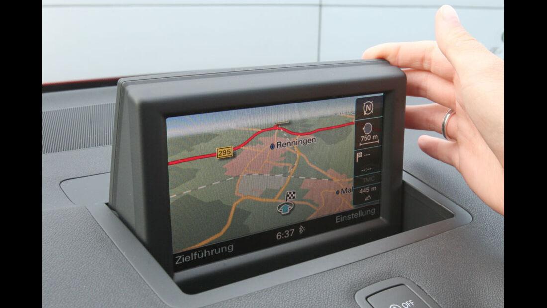 Audi A1, MMI-Navigation Plus