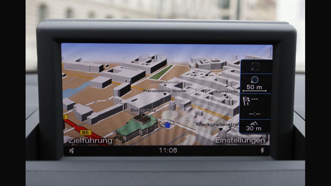 Audi A1 Navigationssystem