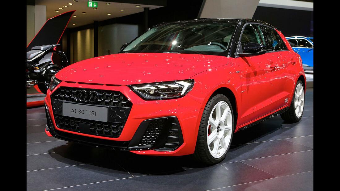 Audi A1 Paris Auto Show 2018