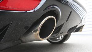 Audi A1 Quattro, Auspuff, Endrohre
