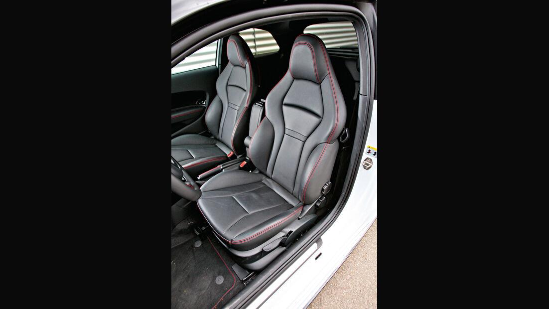 Audi A1 Quattro, Fahrersitz