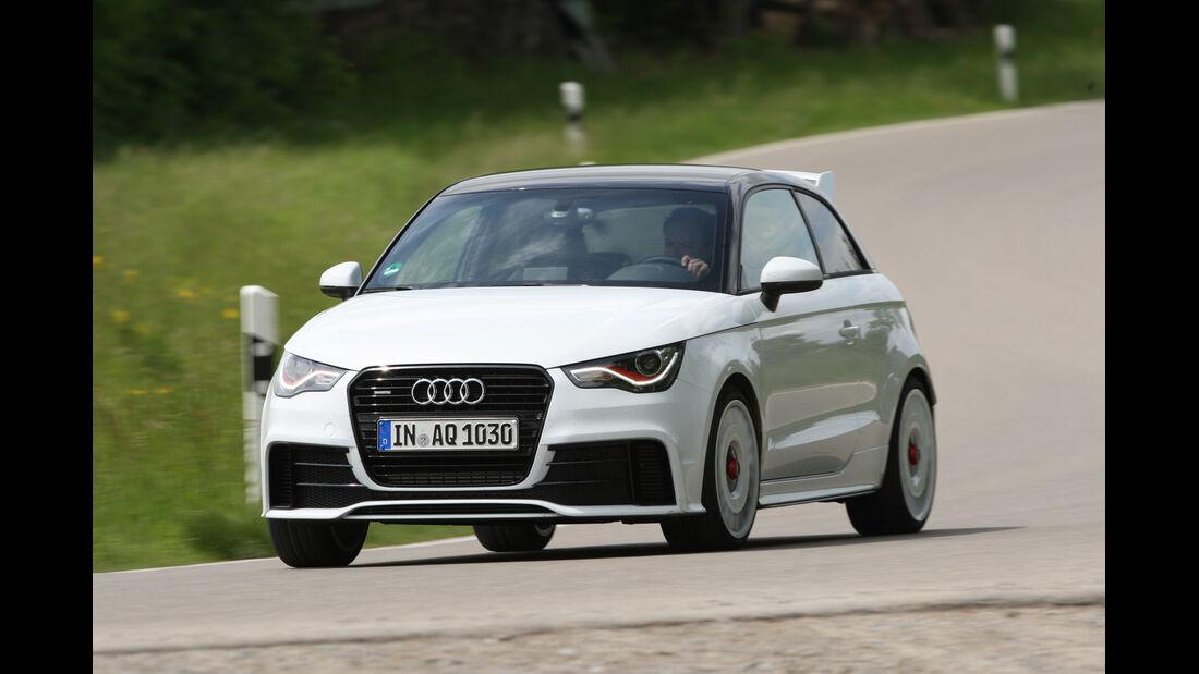 Audi A1 Quattro, Front