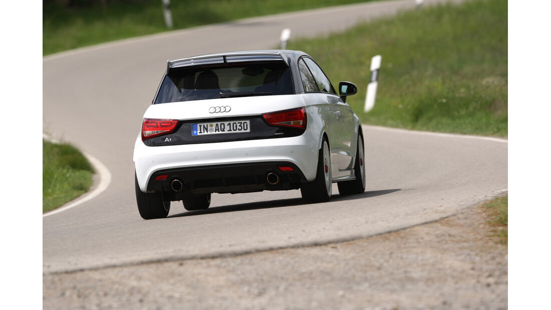 Audi A1 Quattro, Heck