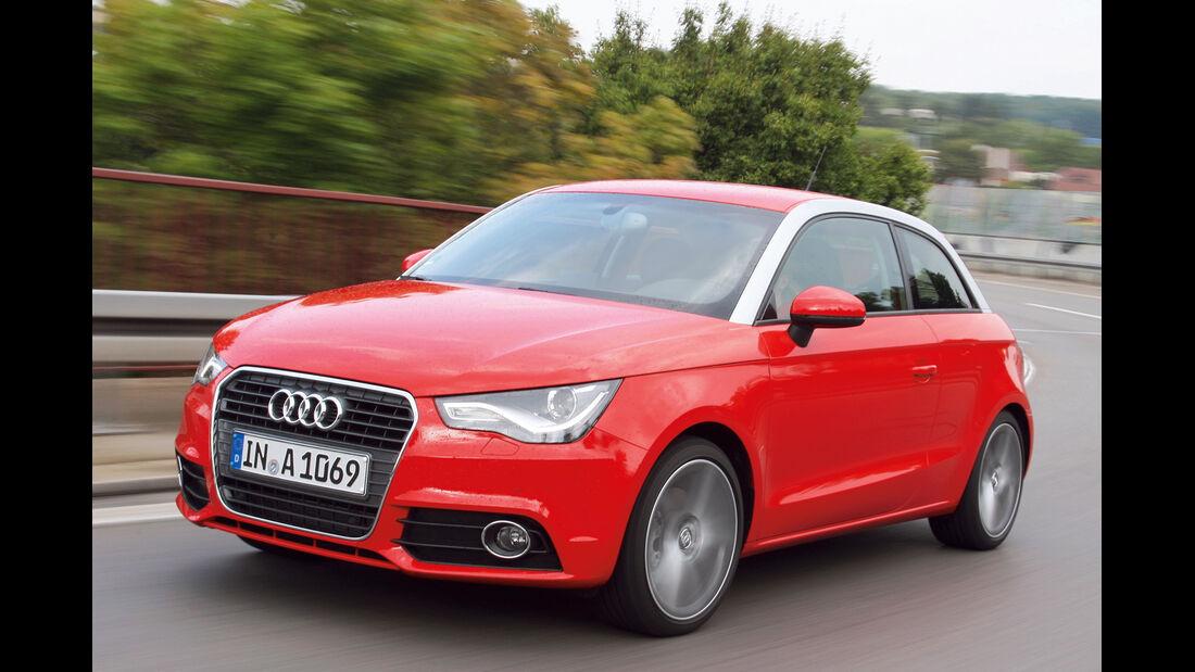 Audi A1, Seitenansicht