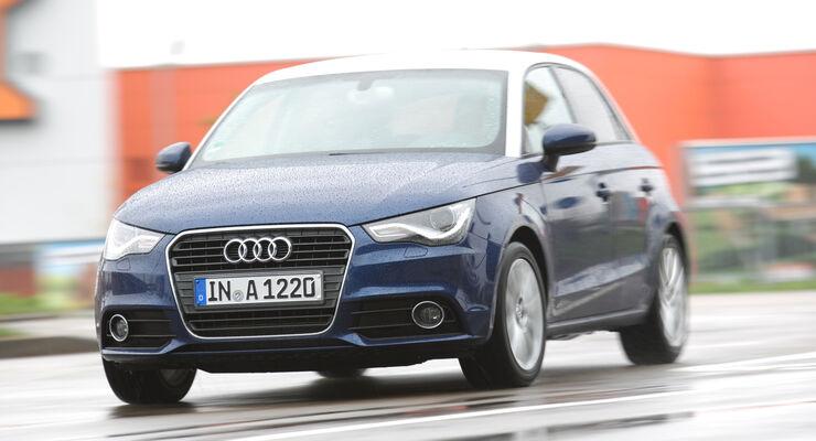 Audi A1 Sportback 1.2 TFSI, Frontansicht