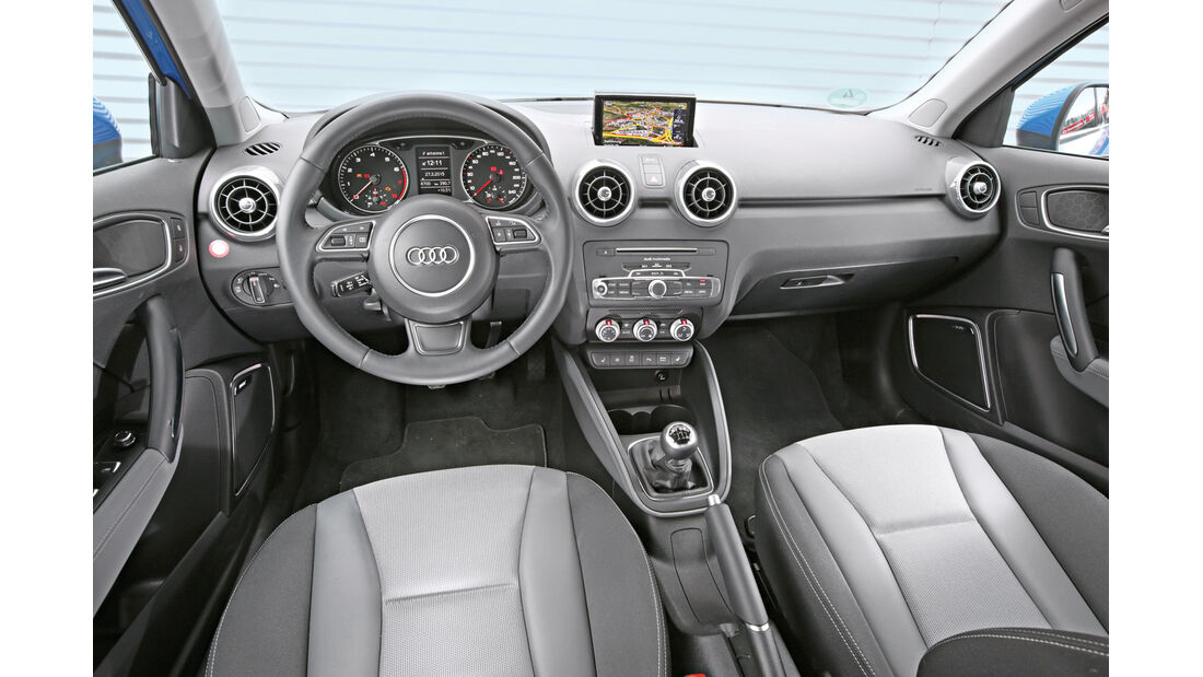 Audi A1 Sportback 1.4 TFSI, Cockpit