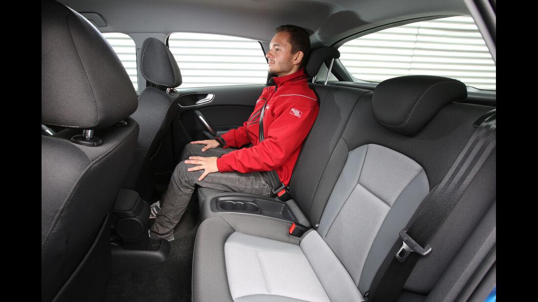 Audi A1 Sportback 1.4 TFSI, Fondsitz