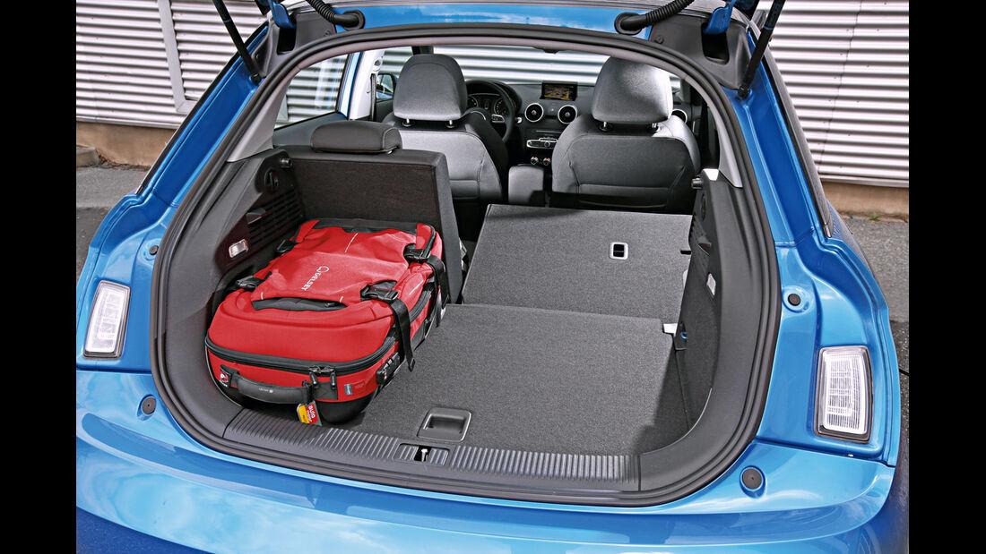 Audi A1 Sportback 1.4 TFSI, Kofferraum