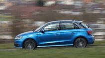 Audi A1 Sportback 1.4 TFSI, Seitenansicht