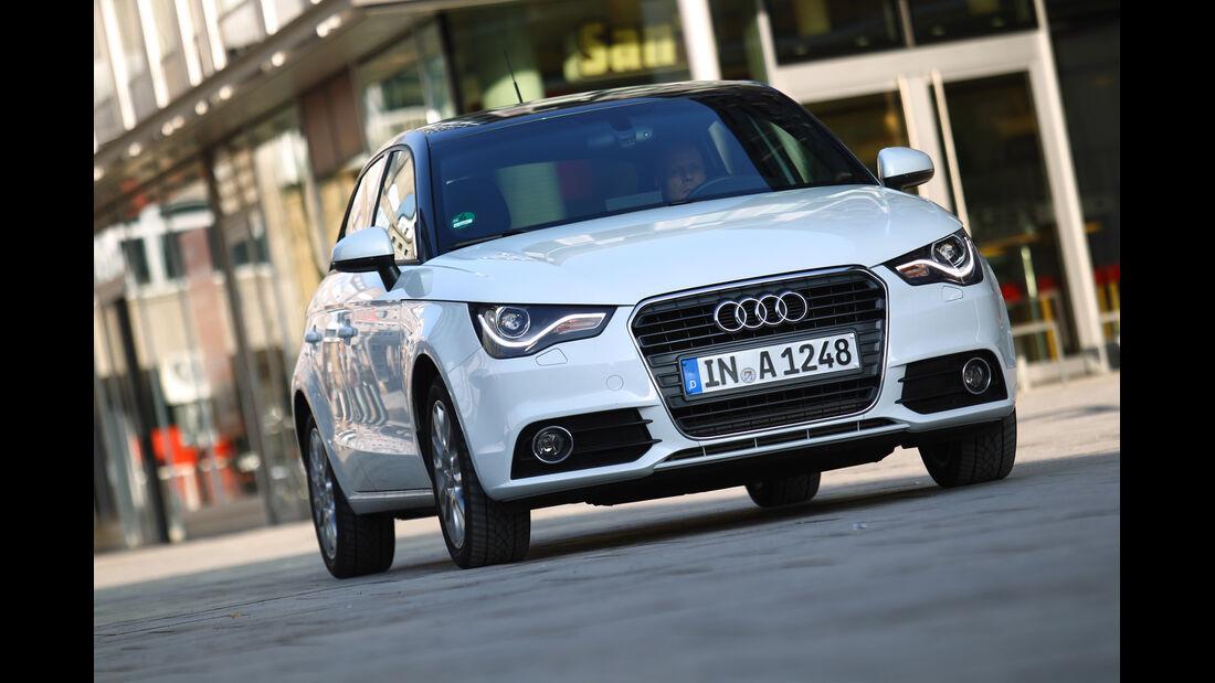Audi A1 Sportback 2.0 TDI Ambition, Frontansicht