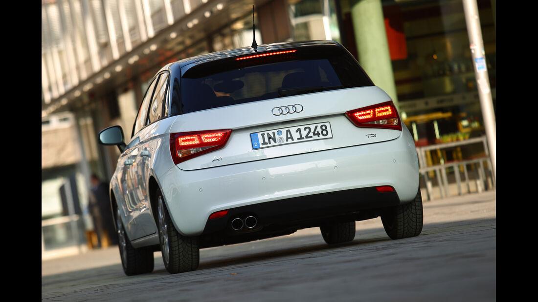 Audi A1 Sportback 2.0 TDI Ambition, Heck, Heckleuchten