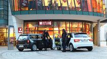 Audi A1 Sportback 2.0 TDI Ambition, Mini Cooper SD Clubman, Heck