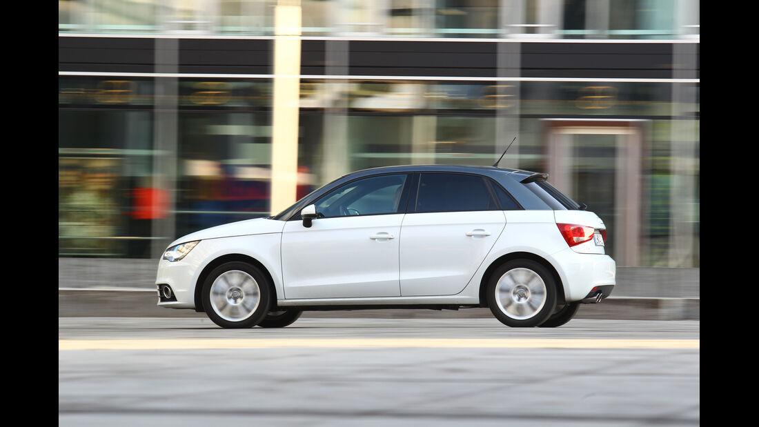 Audi A1 Sportback 2.0 TDI Ambition, Seitenansicht