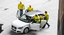 Audi A1 Sportback 2.0 TDI, Einsteigen, Türen