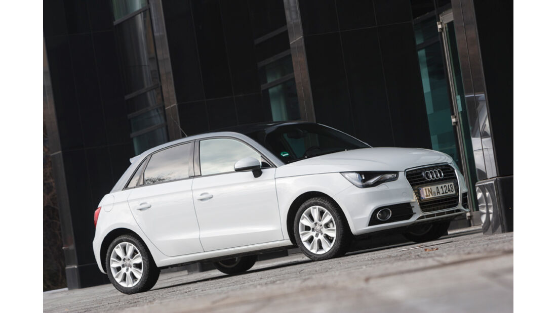 Audi A1 Sportback 2.0 TDI, Frontansicht