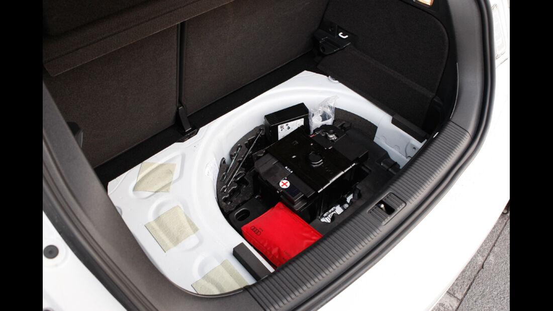 Audi A1 Sportback 2.0 TDI, Kofferraum, Medizintasche
