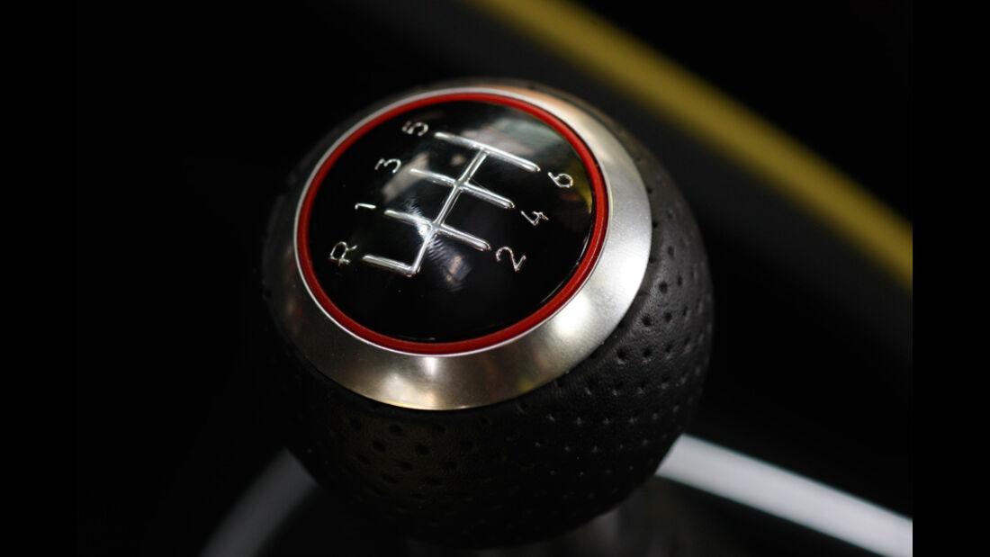 Audi A1 Sportback 2.0 TDI, Schaltknauf, Schalthebel
