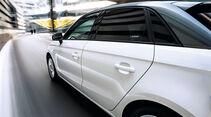 Audi A1 Sportback 2.0 TDI. Seitenlinie, Seitentüren