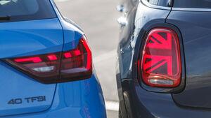 Audi A1 Sportback 40 TFSI, Mini Viertürer Cooper S, Exterieur