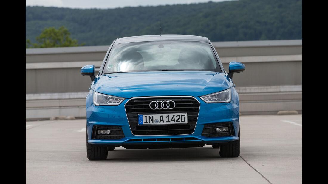 Audi A1 Sportback, Frontansicht