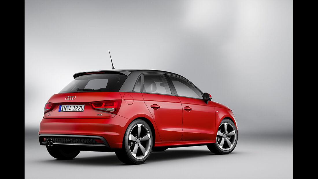 Audi A1 Sportback, Heck