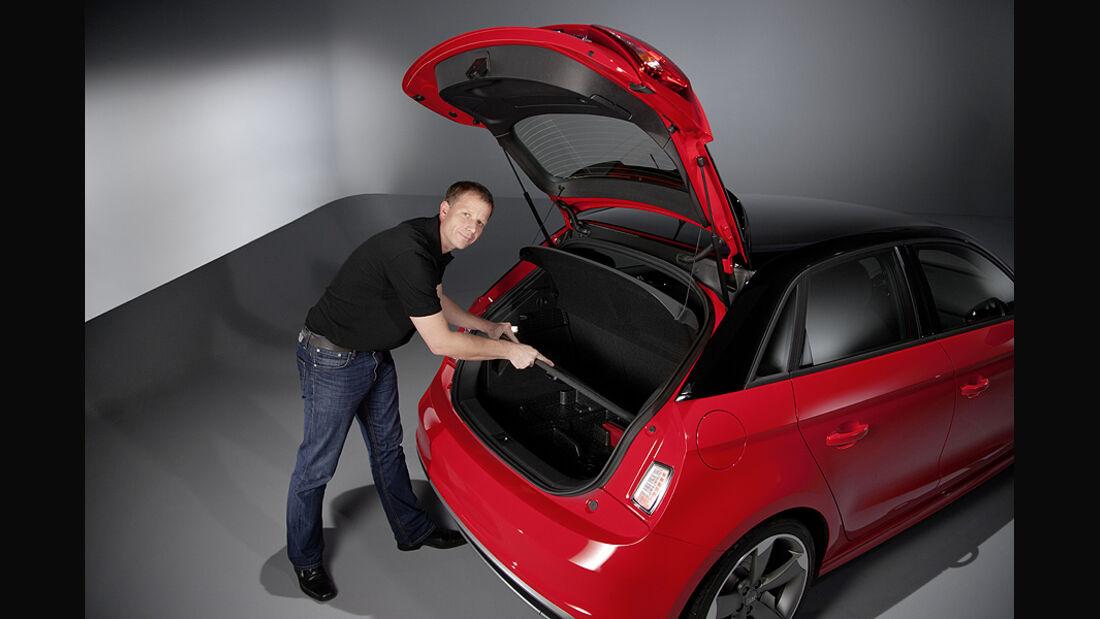 Audi A1 Sportback, Heck, Kofferraum