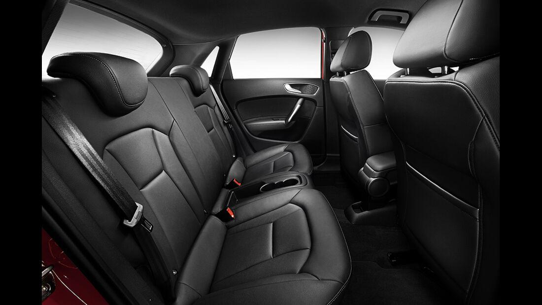 Audi A1 Sportback, Rücksitze, Fond