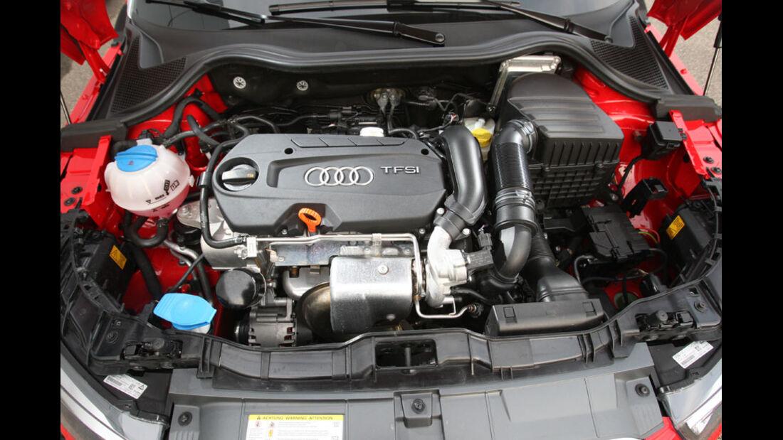 Audi A1, Start-Knopf