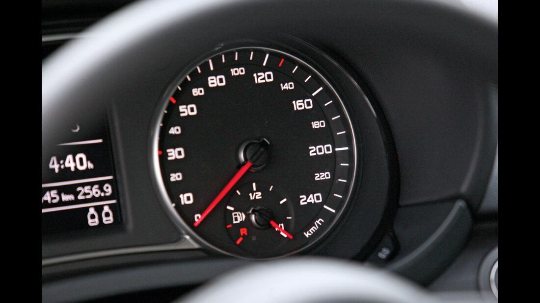 Audi A1, Tachometer