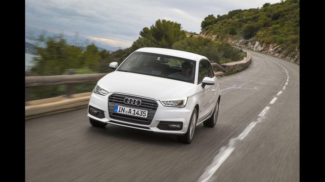 Audi A1, ams, Fahrbericht