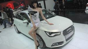 Audi A1 e-tron auf der Auto China 2010