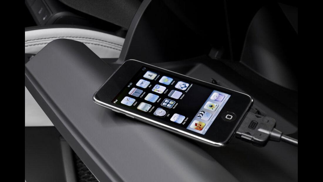 Audi A1, iPod Adapter