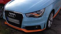 Audi A1 in Gulf-Lackierung