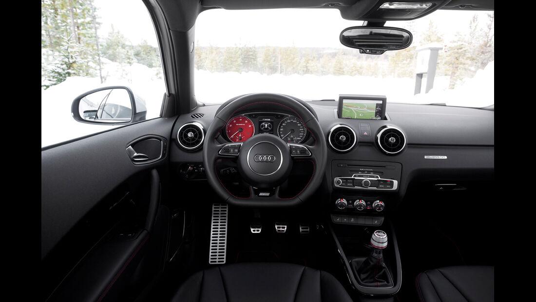 Audi A1 quattro, Cockpit