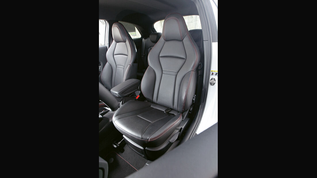 Audi A1 quattro, Fahrersitz, Sportsitz