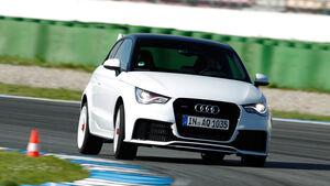 Audi A1 quattro, Frontansicht