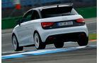 Audi A1 quattro, Heckansicht
