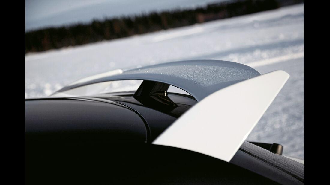 Audi A1 quattro, Heckspoiler