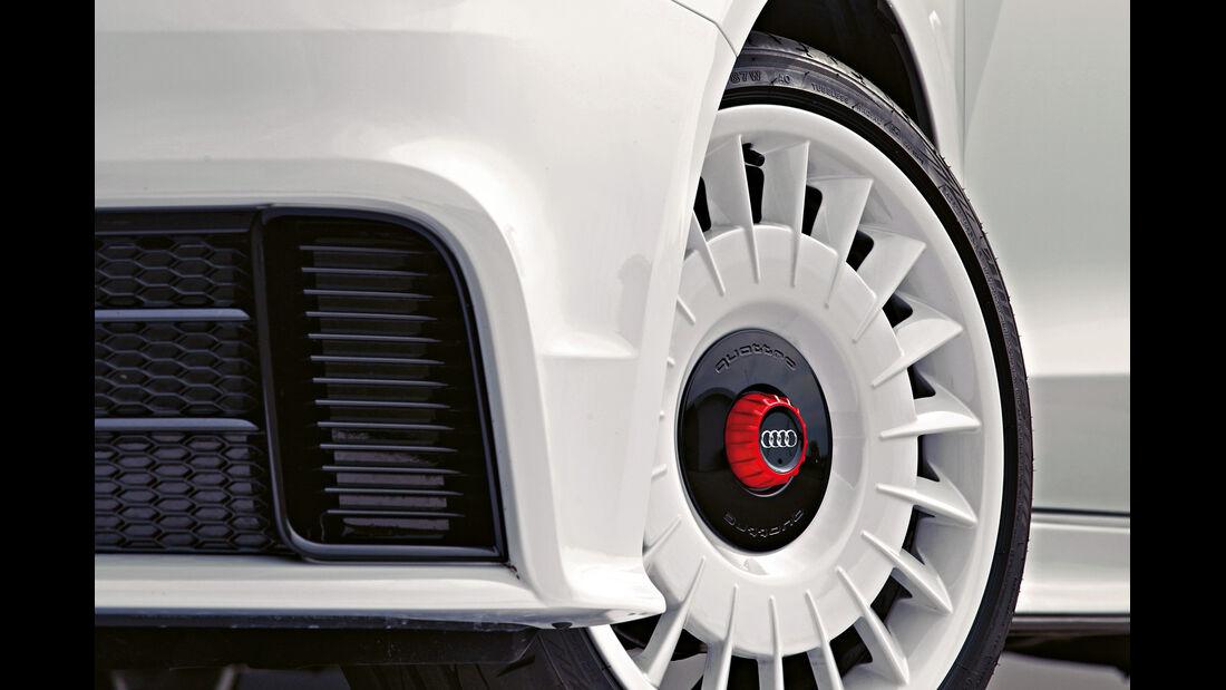 Audi A1 quattro, Rad, Felge