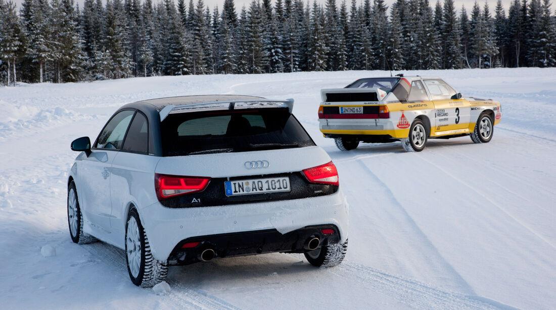 Audi A1 quattro, Rallye-Quattro