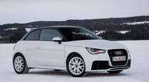 Audi A1 quattro, Seitenansicht