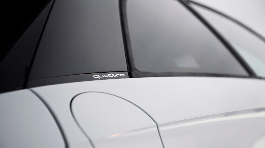 Audi A1 quattro, Seitenfenster, Tankklappe