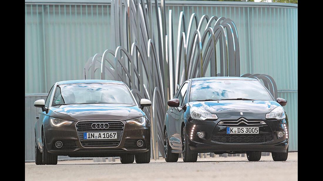 Audi A1 und Citroen DS3